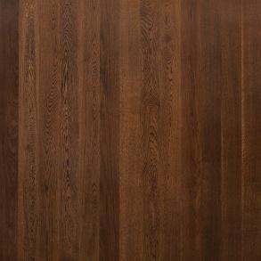 Дуб Ализе лакированый темно-коричневый лак